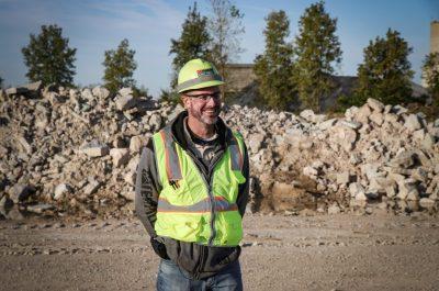 Steve Chaney, quarry Manager
